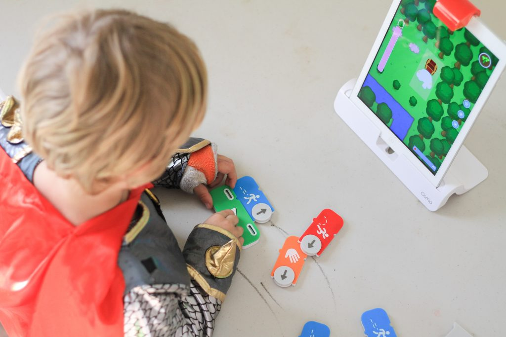 coding for kids homeschooling mom blog dad blog early learning classical learning world schooling digitize coding with kids OSMO team work travel wellness classroom Montessori Virginia dad blogger mommmy blogger mom blogger family blog healthy mom healthy kids lifestyle blog indoor fun