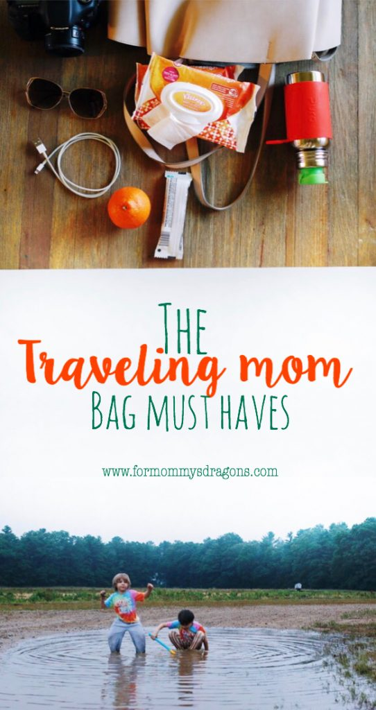 bag must haves for a traveling mom. Staying clean and always on the go. What's in my bag. Mom Bag essentials