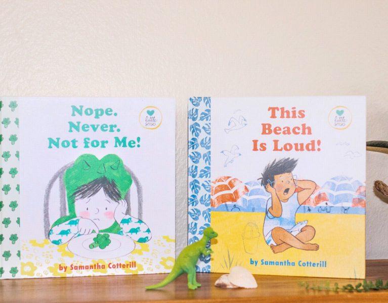 kids books little senses mom blog learning autism spectrum influencer mommy blogger