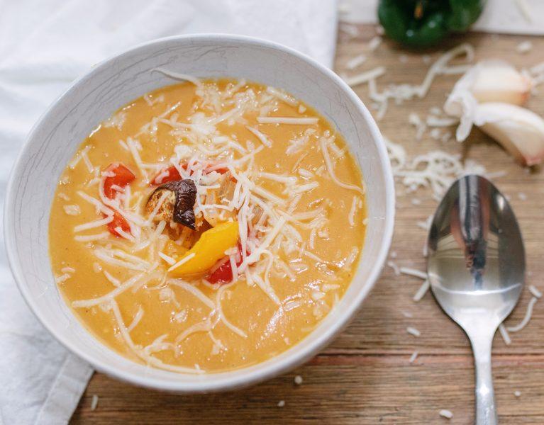 roasted vegetable soup family blog easy week dinner