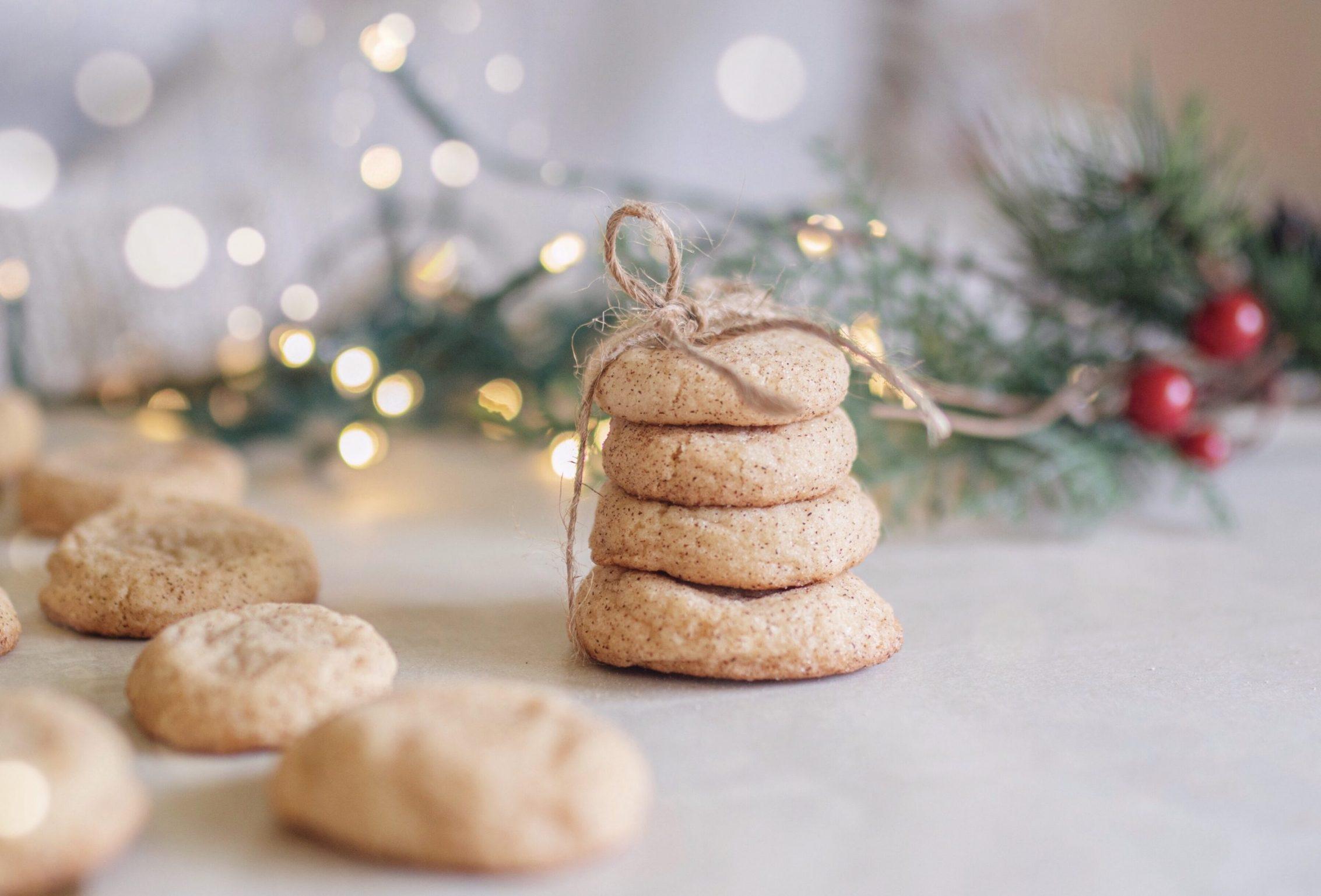 Cookie exchange with friends- Snickerdoodle Cookies